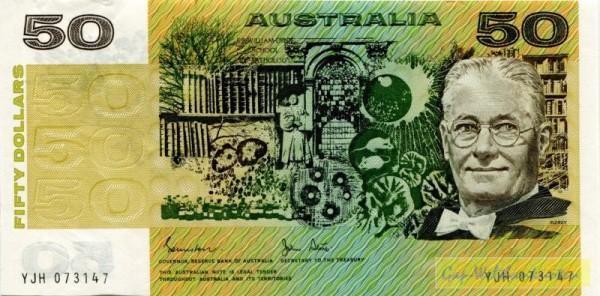 Johnstone-Stone - (Sie sehen ein Musterbild, nicht die angebotene Banknote)