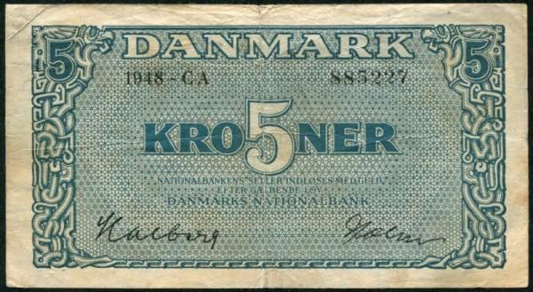 1948 CA - (Sie sehen ein Musterbild, nicht die angebotene Banknote)
