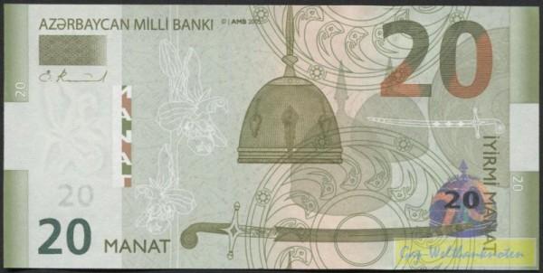 2005, Milli BANKI - (Sie sehen ein Musterbild, nicht die angebotene Banknote)