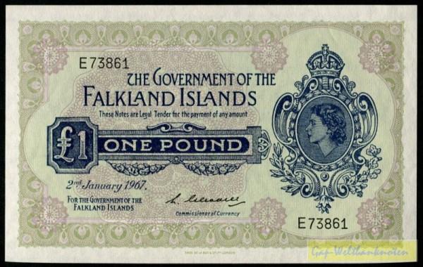 2.1.67 - (Sie sehen ein Musterbild, nicht die angebotene Banknote)