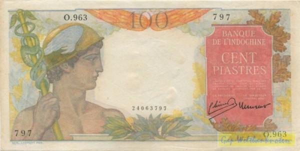 Lao-Text, Typ I - (Sie sehen ein Musterbild, nicht die angebotene Banknote)