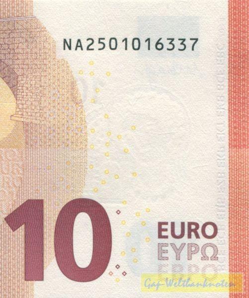 N010 - (Sie sehen ein Musterbild, nicht die angebotene Banknote)