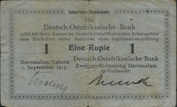 1.9.15, A, Kielich/Berndt - (Sie sehen ein Musterbild, nicht die angebotene Banknote)