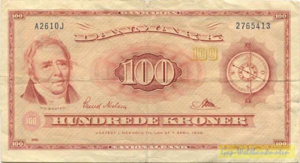 61A2 - (Sie sehen ein Musterbild, nicht die angebotene Banknote)