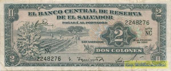 15.2.62 - (Sie sehen ein Musterbild, nicht die angebotene Banknote)