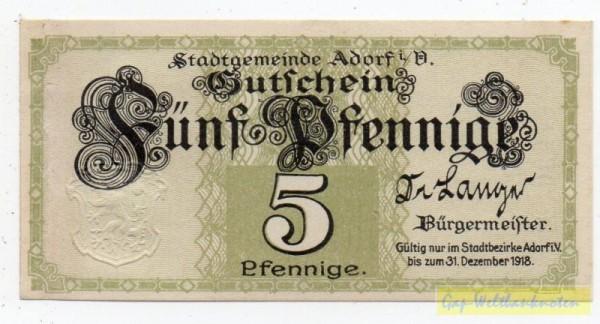 oD, o.Wz - (Sie sehen ein Musterbild, nicht die angebotene Banknote)