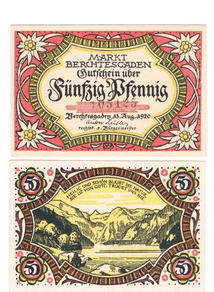 13.8.20, KN 4 mm - (Sie sehen ein Musterbild, nicht die angebotene Banknote)