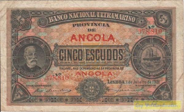 1.1.21 - (Sie sehen ein Musterbild, nicht die angebotene Banknote)
