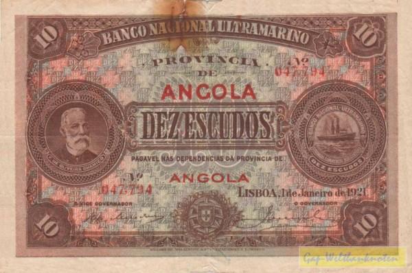 Riß durch rostige Heftkl., s.III - (Sie sehen ein Musterbild, nicht die angebotene Banknote)