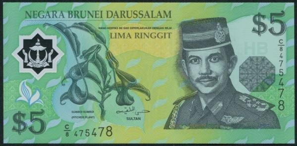 2002, Plastik - (Sie sehen ein Musterbild, nicht die angebotene Banknote)
