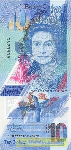 Plastik - (Sie sehen ein Musterbild, nicht die angebotene Banknote)