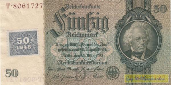 Marke auf 175a - (Sie sehen ein Musterbild, nicht die angebotene Banknote)