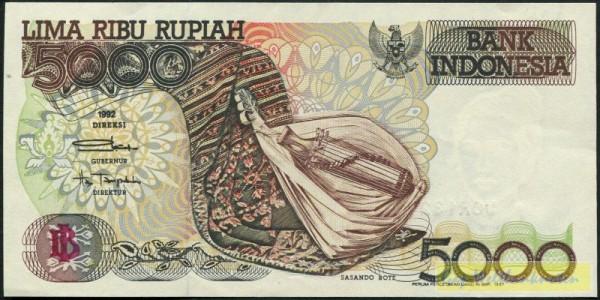 1992/1997 - (Sie sehen ein Musterbild, nicht die angebotene Banknote)