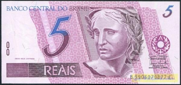 Us. Mantega/Meirelles, B-C - (Sie sehen ein Musterbild, nicht die angebotene Banknote)