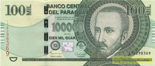 2015, I, Sf mit Sternen und Schrift - (Sie sehen ein Musterbild, nicht die angebotene Banknote)