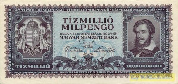 24.5.46 - (Sie sehen ein Musterbild, nicht die angebotene Banknote)