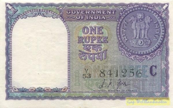 1957, Us. 35, C - (Sie sehen ein Musterbild, nicht die angebotene Banknote)