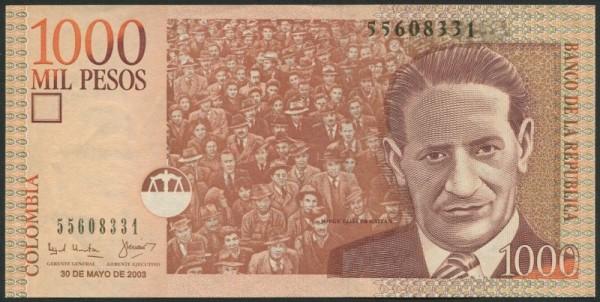 30.5.03 - (Sie sehen ein Musterbild, nicht die angebotene Banknote)