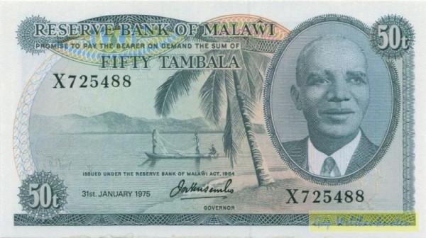 31.1.75 - (Sie sehen ein Musterbild, nicht die angebotene Banknote)
