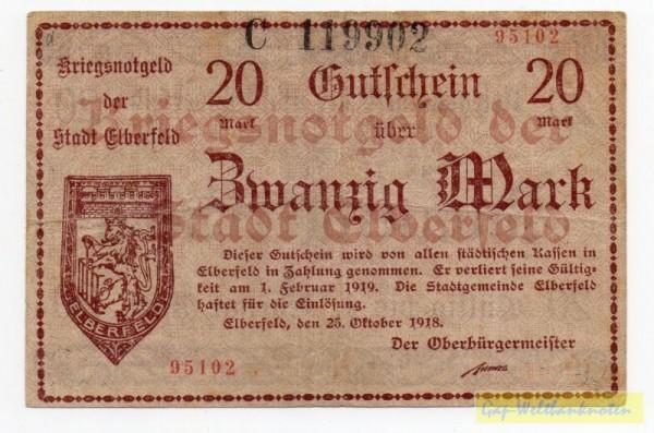 25.10.18, 2 rote KN u. C KN 7 mm - (Sie sehen ein Musterbild, nicht die angebotene Banknote)