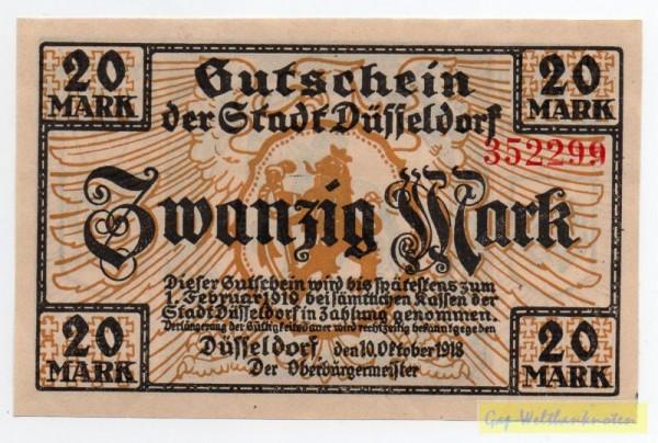 10.10.18, KN rot, Type II - (Sie sehen ein Musterbild, nicht die angebotene Banknote)