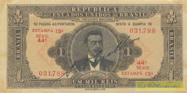 E.13A - (Sie sehen ein Musterbild, nicht die angebotene Banknote)