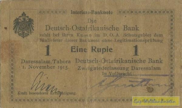 D, olivbraunes Papier - (Sie sehen ein Musterbild, nicht die angebotene Banknote)
