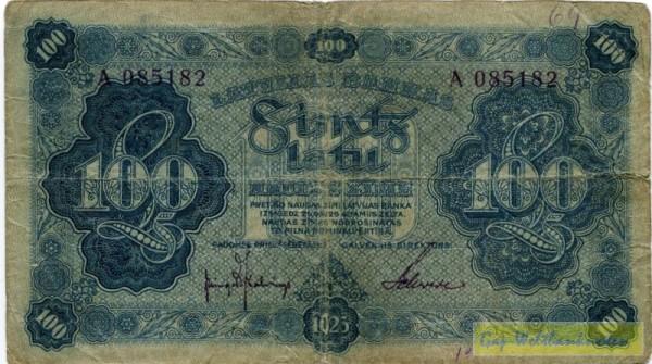 1923, Us. 1/2 - (Sie sehen ein Musterbild, nicht die angebotene Banknote)