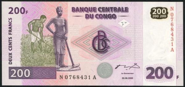30.6.00, G&D - (Sie sehen ein Musterbild, nicht die angebotene Banknote)