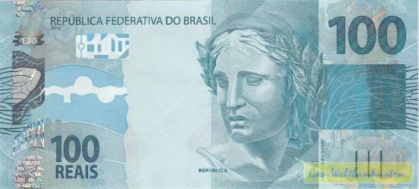 2010, Us. Mantega/Tombini - (Sie sehen ein Musterbild, nicht die angebotene Banknote)