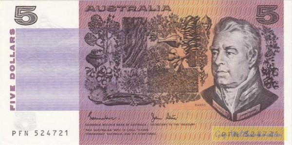 Johnston-Stone - (Sie sehen ein Musterbild, nicht die angebotene Banknote)