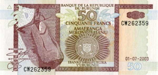 1.7.03 - (Sie sehen ein Musterbild, nicht die angebotene Banknote)