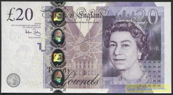 © 2006, Us. Bailey - (Sie sehen ein Musterbild, nicht die angebotene Banknote)