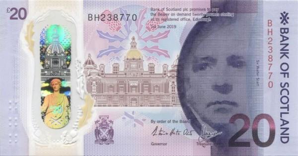 1.6.20 - (Sie sehen ein Musterbild, nicht die angebotene Banknote)