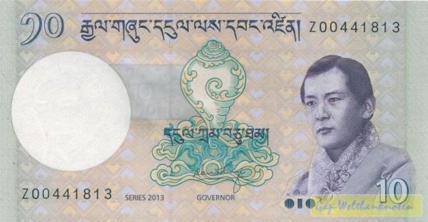 2013, Z KN = Erstaznote - (Sie sehen ein Musterbild, nicht die angebotene Banknote)