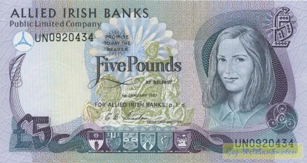 1.1.87 - (Sie sehen ein Musterbild, nicht die angebotene Banknote)