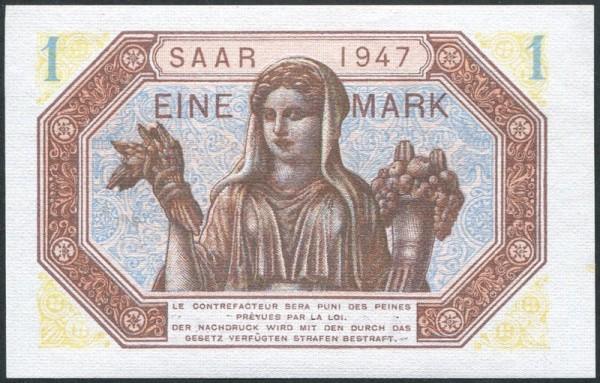 1947 - (Sie sehen ein Musterbild, nicht die angebotene Banknote)