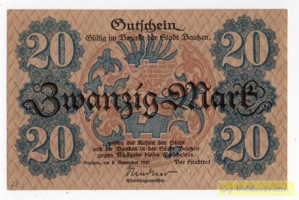 8.11.18, No KN fett, entw. - (Sie sehen ein Musterbild, nicht die angebotene Banknote)