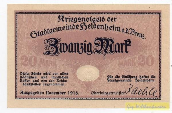 Nov. 18, KN 3,6 mm mit PSt - (Sie sehen ein Musterbild, nicht die angebotene Banknote)