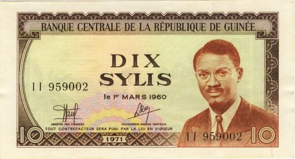1971 - (Sie sehen ein Musterbild, nicht die angebotene Banknote)