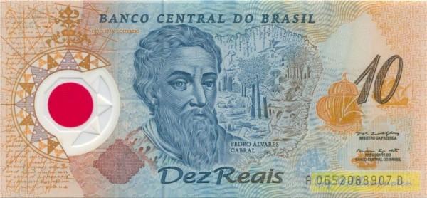 Pedro Alvarez Cabral, Plastik - (Sie sehen ein Musterbild, nicht die angebotene Banknote)
