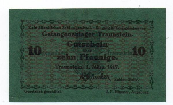 1.3.17 - (Sie sehen ein Musterbild, nicht die angebotene Banknote)