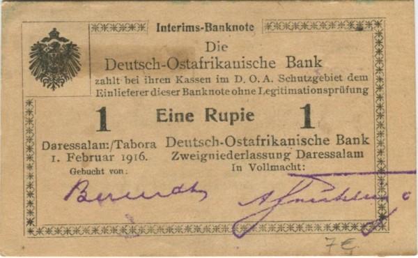 U3 - (Sie sehen ein Musterbild, nicht die angebotene Banknote)