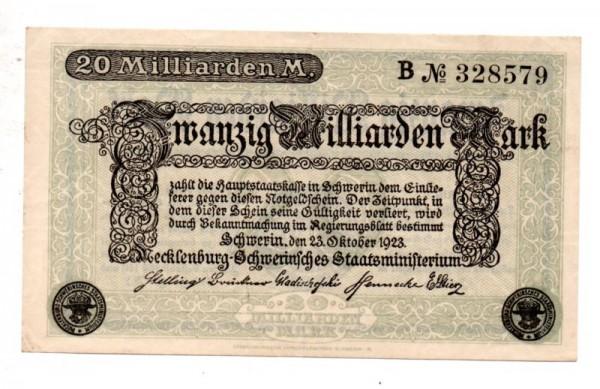 23.10.23, B KN 6stellig - (Sie sehen ein Musterbild, nicht die angebotene Banknote)
