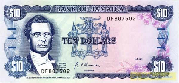 1.5.91, Us. 10 - (Sie sehen ein Musterbild, nicht die angebotene Banknote)