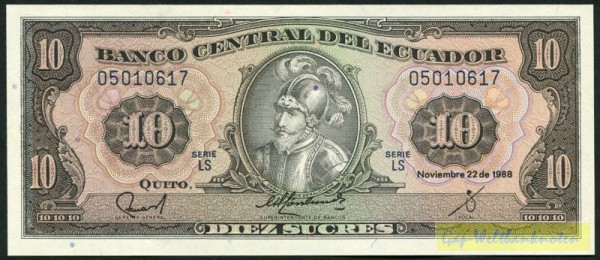 22.11.88, LS - (Sie sehen ein Musterbild, nicht die angebotene Banknote)