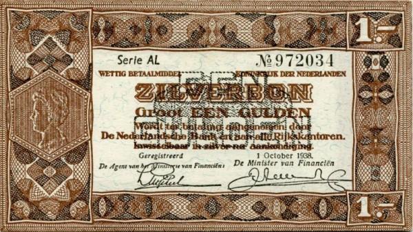 1.10.38, Serie XX - (Sie sehen ein Musterbild, nicht die angebotene Banknote)