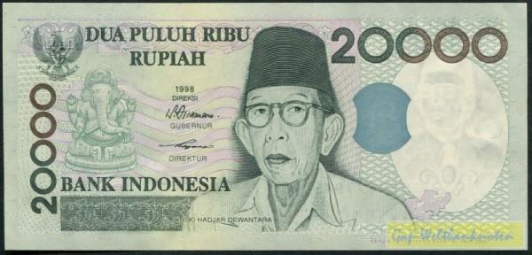 1998/2001 - (Sie sehen ein Musterbild, nicht die angebotene Banknote)