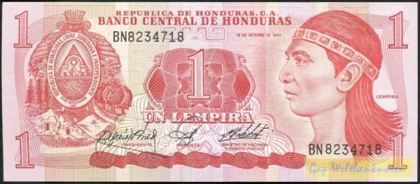 18.10.84 - (Sie sehen ein Musterbild, nicht die angebotene Banknote)