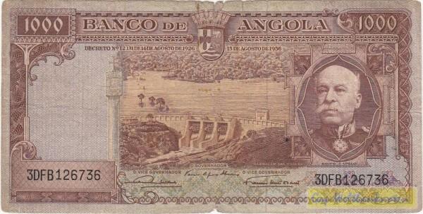 15.8.56 - (Sie sehen ein Musterbild, nicht die angebotene Banknote)
